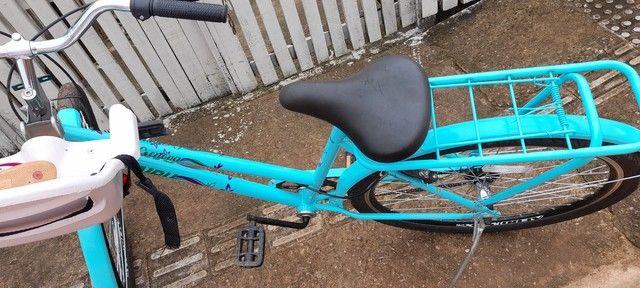 Vendo essa bicicleta   novinha  - Foto 4
