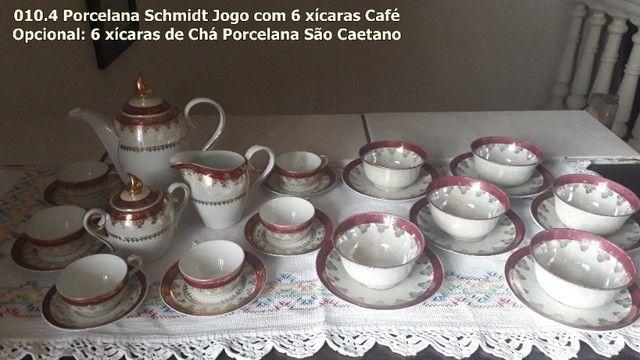 Jogo de Café porcelana Schmidt - Foto 4