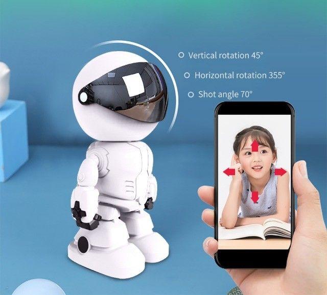 Robot Câmera de Segurança - Babá Eletrônica - Foto 2