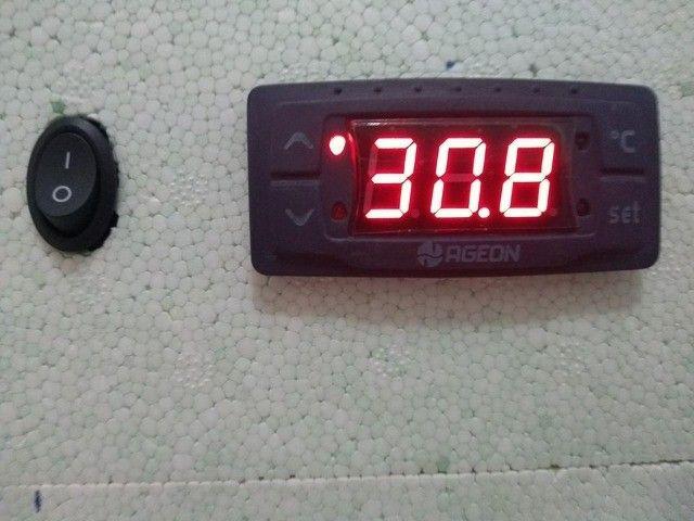 Chocadeira De Isopor 100% Automática Para 90 Ovos De Codorna - Foto 2