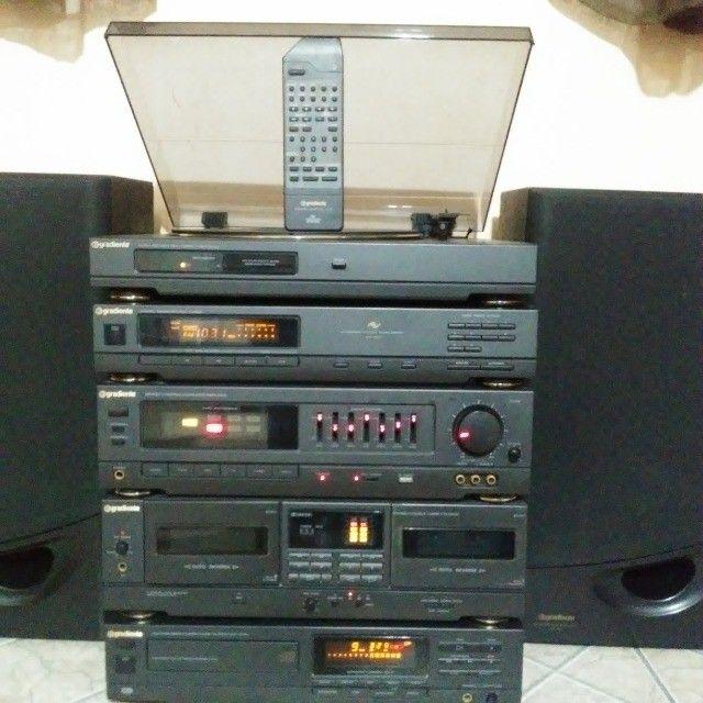 Raro System Gradiente DS 800 Em Ótimo Estado