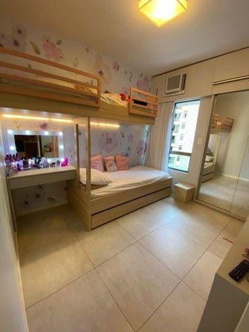 Edf Via Tazolli Setubal/129m/3 suites/capa de revista/luxo/3 vagas/lazer. - Foto 8