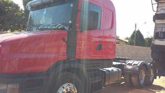 SCANIA 124 GA 360 E 113 H TOP LINE FRONTAL AZU