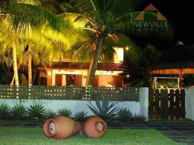Casa residencial para locação, Praia de Toquinho, Ipojuca - CA0087.