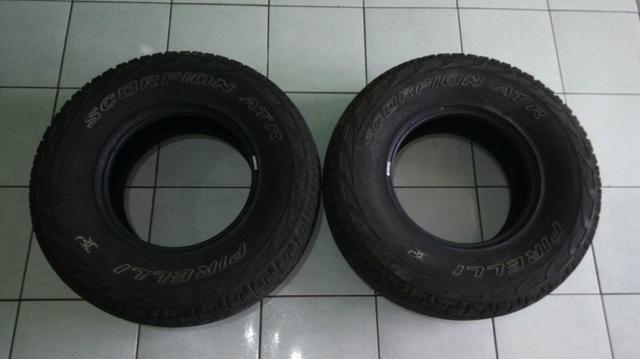 2 pneus scorpion 2 bfgoodrich r15 r$ 1.100,00