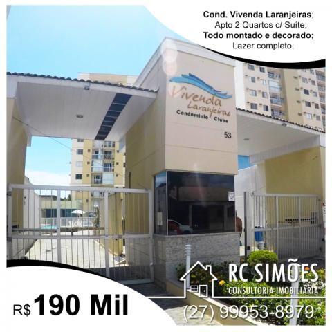 Apto 2 Qts c/ Suíte - Vivenda Laranjeiras - Laranjeiras