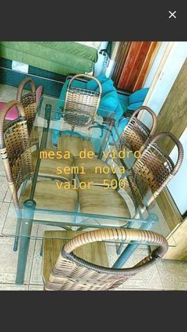 Quero comprar mesa de 6 cadeiras
