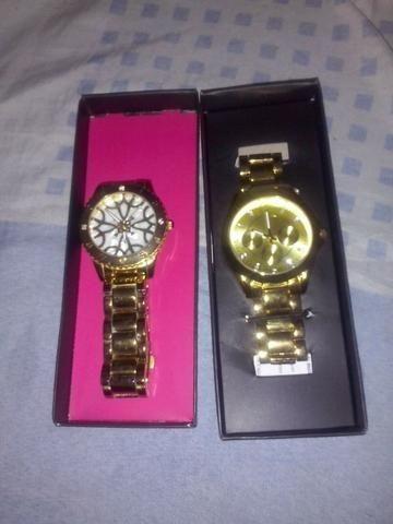 e771e3f57fd Relógios Avon novos sem uso - Bijouterias