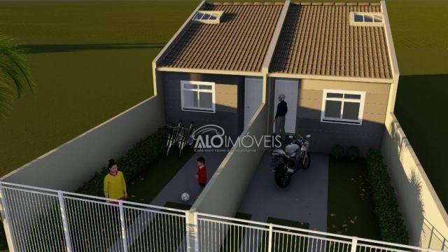 Casa com 2 dormitórios à venda, 41 m² por r$ 160.000 - campo de santana - curitiba/pr - Foto 2
