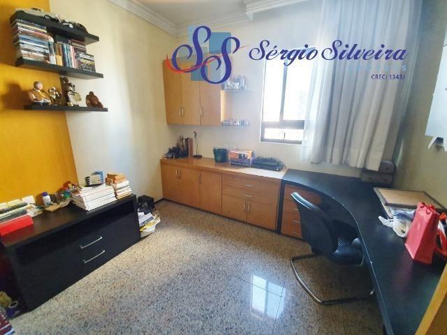 Apartamento na Aldeota com 4 suítes todas com closet, amplo e ventilado, nascente 4 vagas - Foto 10