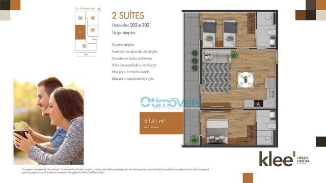 Apartamento com 3 dormitórios à venda, 73 m² por R$ 539.000 - Ecoville - Curitiba/PR - Foto 6