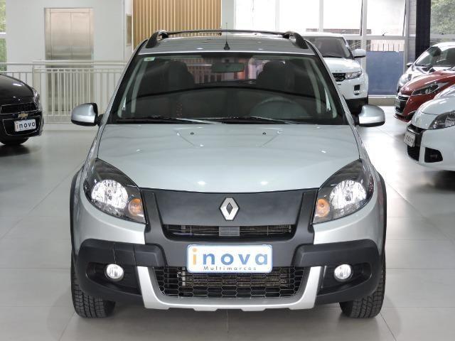Renault Sandero Stepway 1.6 mec. completo + Media Nav prata