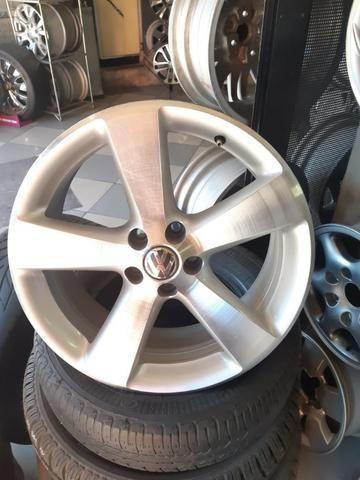 Roda aro 17 Importadas Mexicanas Original da Volkswagen - Foto 2