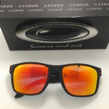 d5bb644df Óculos de Sol Oakley Holbrook Espelhado Vermelho Polarizado ...