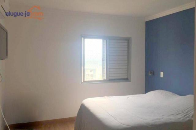 Apartamento com 3 dormitórios à venda, 120 m² por r$ 450.000 - vila adyana - são josé dos  - Foto 8