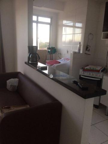 Apartamento com 2 dormitórios à venda, 57 m² por r$ 180.000 - parque residencial flamboyan - Foto 10