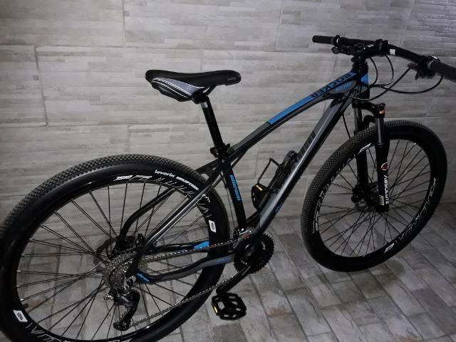 Bicicleta ellevem rock 27v Shimano niva - Foto 6