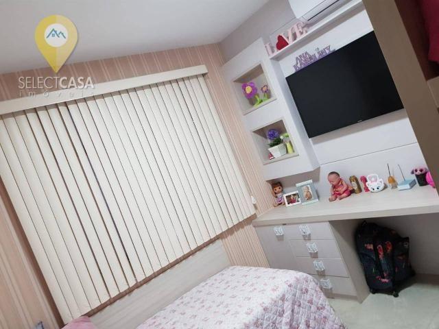 Excelente apartamento em bairro de fátima/jardim camburi 3 quartos - Foto 18