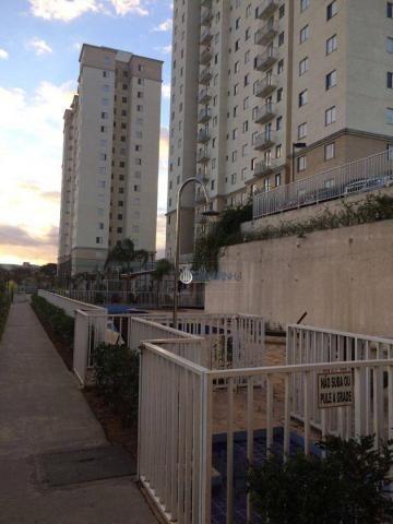 Apartamento com 2 dormitórios à venda, 57 m² por r$ 180.000 - parque residencial flamboyan