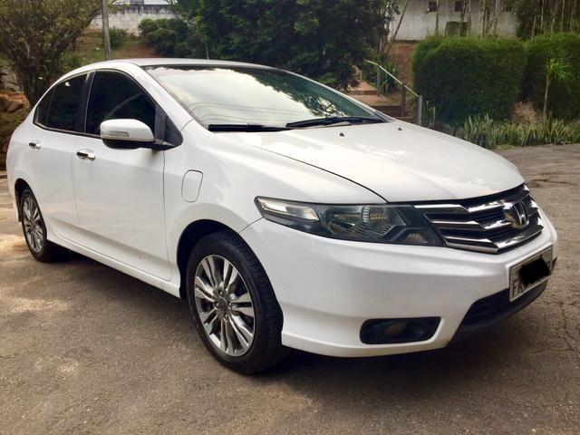 Honda City EX 1.5 flex automatico 2014