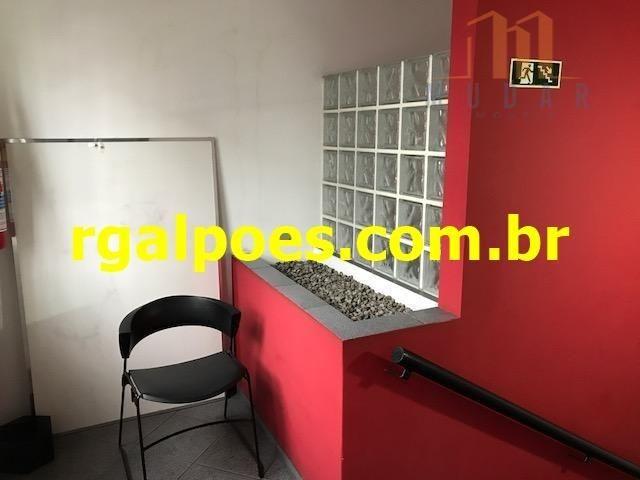 Galpão 650m², 5 salas, 6 banheiros, elevador industrial e recepção - Foto 17