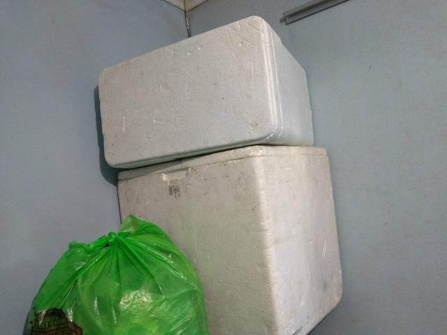 Caixas de isopor vários tamanhos