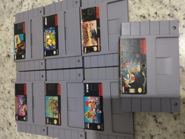 Jogos super Nintendo - Foto 2