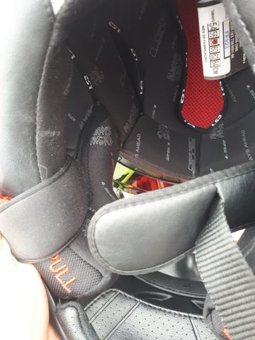 Capacete LS2 Tricomposto Arrow R Evo com 2 viseiras - Foto 7