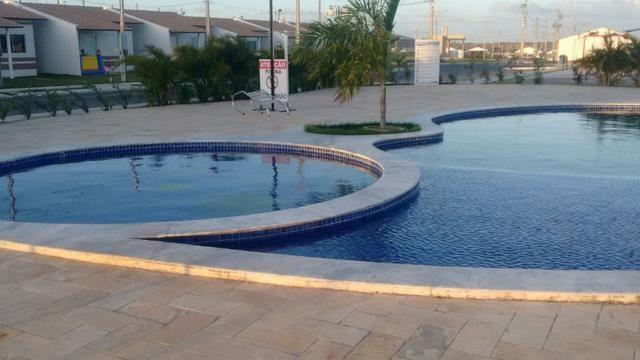 Chave no Grand Jardim Flamboyant casa 2/4 no Estaquio R$ 23 mil prestação R$ 430 - Foto 2