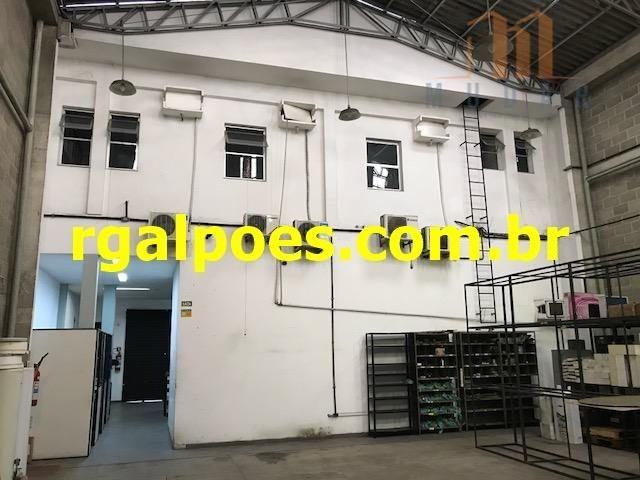 Galpão 650m², 5 salas, 6 banheiros, elevador industrial e recepção - Foto 6