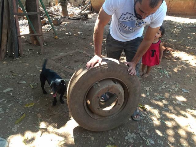 Roda de ferro 17.5 - Foto 2