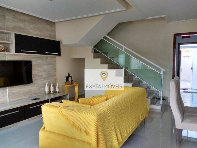 Linda casa duplex 3 quartos, independente, pronta para morar! - Foto 11