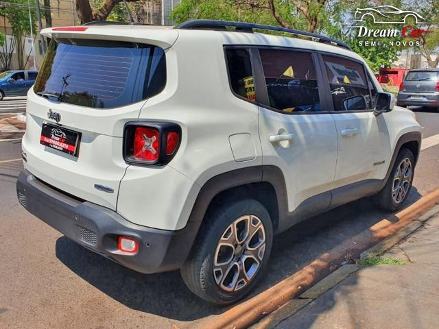 Jeep Renegade Longitude 2.0 16v turbo diesel 4x4 aut 7 air bag único dono 2016 - Foto 5
