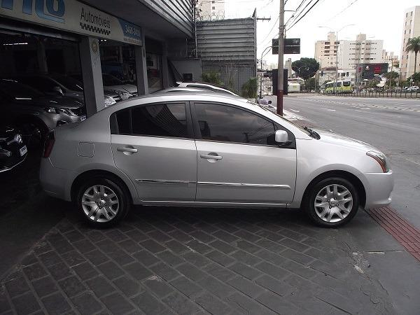 Nissan Sentra 2.0 Flex 12/13 Prata Cód. 5519 - Foto 4
