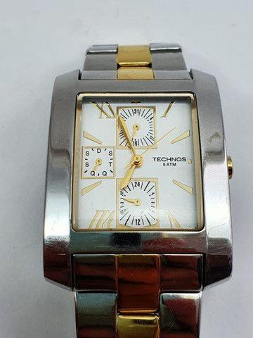 Relógio Technos Classic 6p27bm-original Envio Imediato - Foto 6