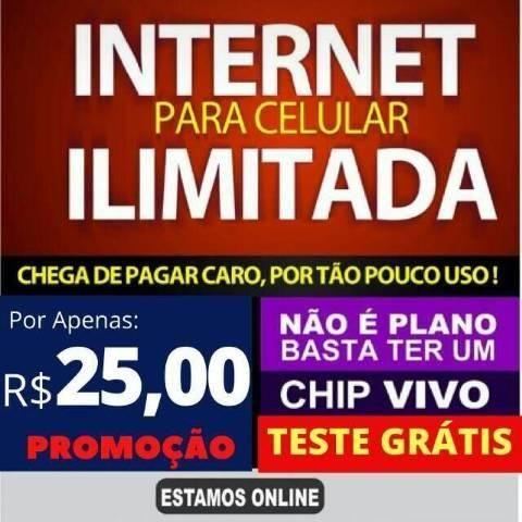 Internet movel ilimitada