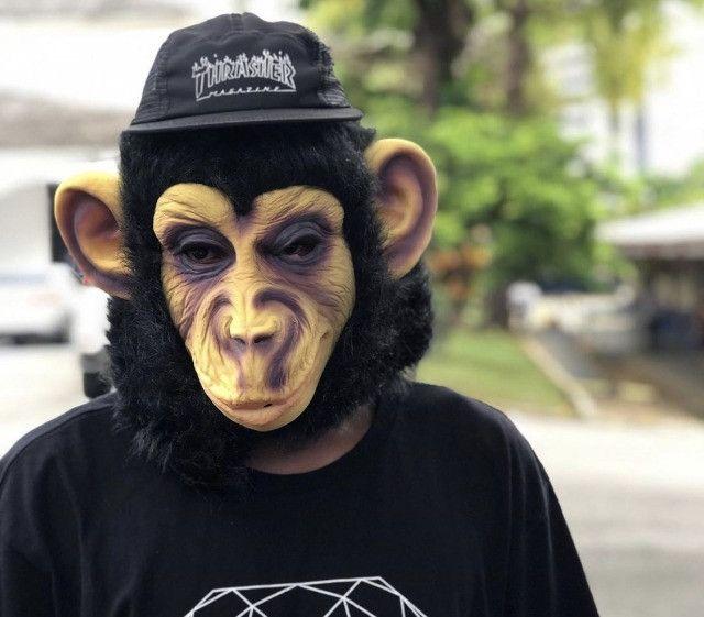Máscara de Macaco Mascarasbrasil - Foto 2