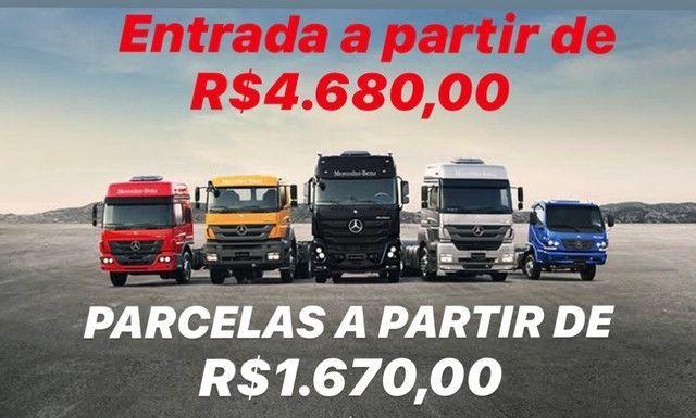 Caminhões / Volvo / Scania / Mercedes-Benz (Sinal + Letras)