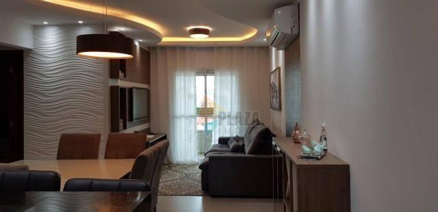 Apartamento com 2 dormitórios para alugar, 76 m² por R$ 3.000,00/mês - Tupi - Praia Grande - Foto 2