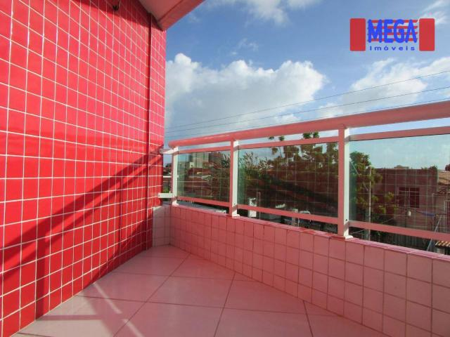 Apartamento com 2 quartos para alugar, próximo à Av. Jovita Feitosa - Foto 4