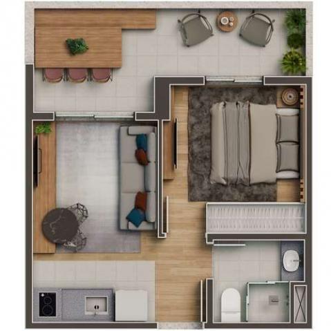 La Vista Lapa - Apartamento de 1 ou 2 quartos na Água Branca - São Paulo, SP - ID1127 - Foto 16