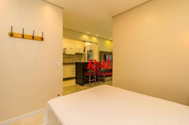 Apartamento com 1 dormitório para alugar, 53 m² por R$ 3.200,00/mês - Ponta da Praia - San - Foto 13