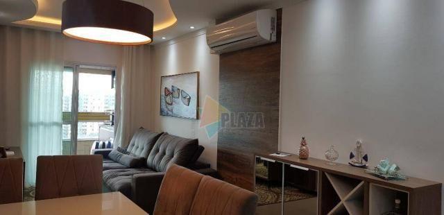 Apartamento com 2 dormitórios para alugar, 76 m² por R$ 3.000,00/mês - Tupi - Praia Grande - Foto 9
