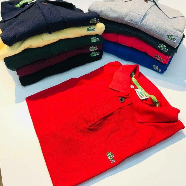 Camisas Polo reserva,tommy e lacos - Foto 4