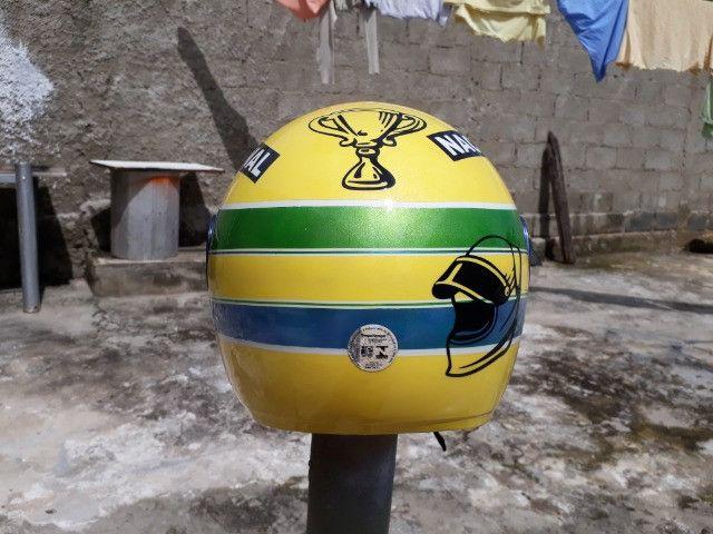 Vendo capacetes personalizados - Foto 2