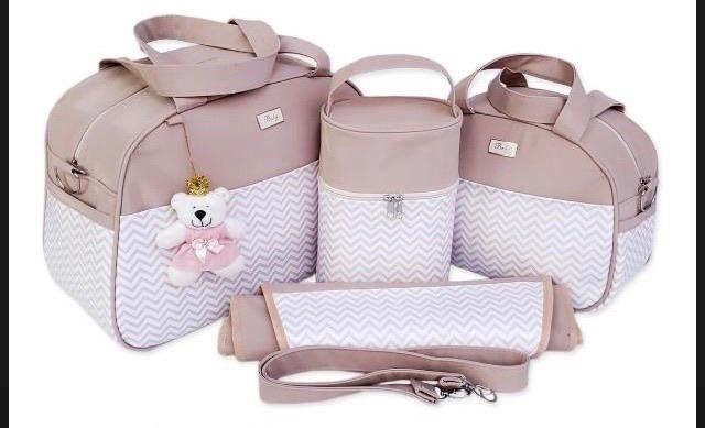 Kit bolsas Maternidade 4 peças