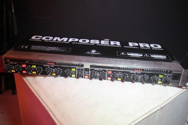 Compressor Behringer Pro MDX 2200 - Troco em Ar Split - Foto 5