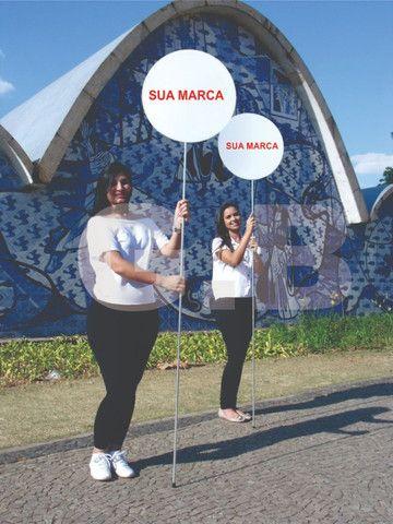 Placa pirulito para campanha política menor preço do mercado - Foto 3