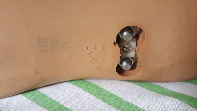 Pé articulado para prótese transtibial esquerdo calça 40.41 - Foto 4