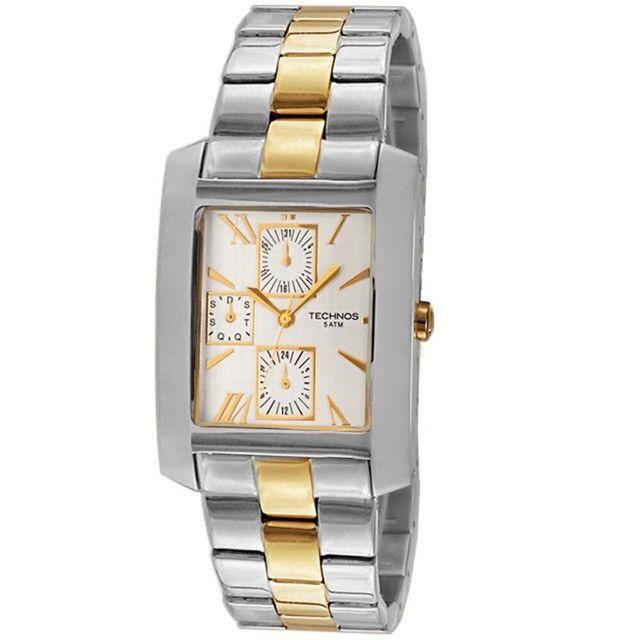 Relógio Technos Classic 6p27bm-original Envio Imediato
